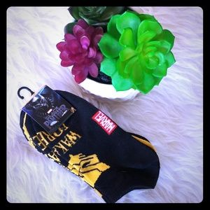 🌿MARVEL BLACK PANTHER NO-SHOW SOCKS 5 PAIR🌿